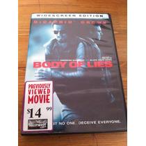 Dvd Body Of Lies (red De Mentiras)