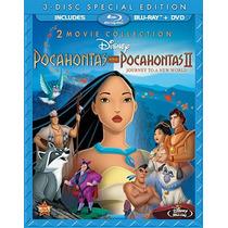 :: Pocahontas 1 Y 2 Disney Bluray+ Dvd+ Envío Gratis En Mx