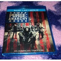 The Purge 2: Anarchy - Bluray + Dvd Importado Usa