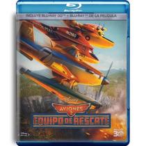 Aviones 2 Equipo De Rescate Pelicula En Blu-ray 3d + Blu-ray