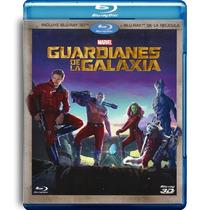 Guardianes De La Galaxia Pelicula En Blu-ray 3d + Blu-ray