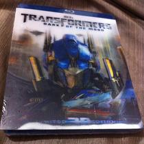 Transformers Dark Of The Moon Bluray 3d/bluray/dvd 4discos