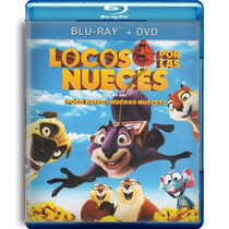 Locos Por Las Nueces , The Nut Job La Pelicula En Bd + Dvd