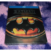 Batman - Bluray Edicion Steelbook Importada Tim Burton 1989
