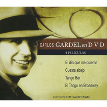 Dvd Original Carlos Gardel Cuesta Abajo Tango Bar Broadway