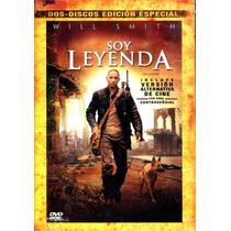 Dvd Soy Leyenda ( I Am Legend ) 2007 - Francis Lawrence