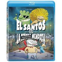 El Santos Contra La Tetona Mendoza. Animada. Blu-ray