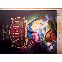 Alicia En El Pais De Las Maravillas Walt Disney Black0012010