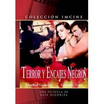 Dvd Mexicano Terror Y Encajes Negros Maribel Guardia Tampico