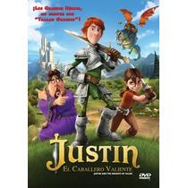 Justin El Caballero Valiente , Pelicula En Dvd