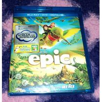Epic - El Reino Secreto - Bluray + Dvd Importado Usa