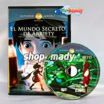 Studio Ghibli El Mundo Secreto De Arriety En Dvd Región 1,4