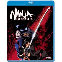 Ninja Scroll , Pelicula De Anime Importada En Blu-ray