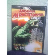 Dvd Doble 2 Kaiju Godzilla Gamera Monstruo Gigante Ultraman