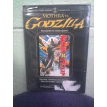 Dvd Kaiju Godzilla Vs Motra Ultraman Gamera Mazinger