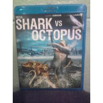 Blu Ray Ciencia Ficción Monstruos Gigante Tiburón Vs Pulpo
