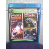 Blu Ray Doble Godzilla Kaiju Monstruo Destroyer Y Megaguirus