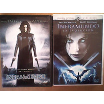Inframundo 1 Y Evolucion Dvd Películas Black0012010 Marvel