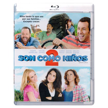Son Como Niños 2 Grown Ups 2 Comedia Pelicula Blu-ray