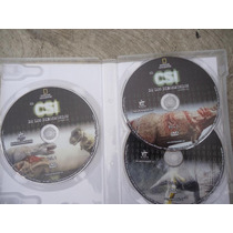 Paquete De 3 Dvds El Csi De Los Dinosaurios Nat Geo