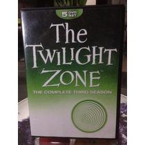 The Twilight Zone Tercer Temporada, Dvd 5 Discos Nueva.