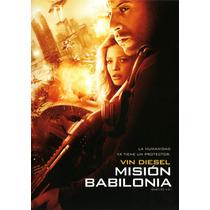 Mision Babilonia , Pelicula Dvd
