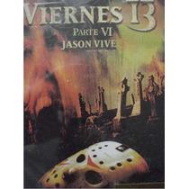 Dvd Pelicula : Viernes 13 Parte 6 Jason Vive / Friday 13th 6