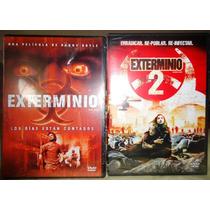 Exterminio 1 Y 2. Paquete De Películas En Formato Dvd
