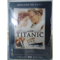 Titanic, Edicion De Lujo. Leonardo Di Caprio Pelicula En Dvd