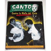 Dvd: Santo Vs La Mafia Del Vicio 1971 Grandes Clasicos!! Mmy