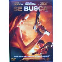 Se Busca / Angelina Jolie / James Mcavoy / Dvd Usado