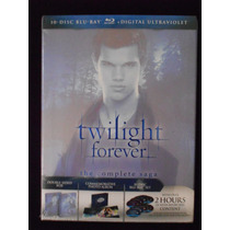 Twilight Forever Complete Saga Crepúsculo Bluray 10 Discos