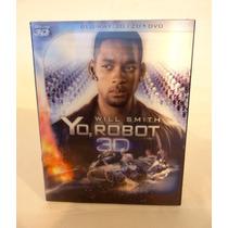 Yo Robot , Will Smith , Pelicula Blu-ray 3d / 2d + Dvd