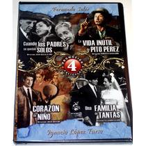 Pack Dvd Cuando Los Padres Se Quedan Solos, Corazon De Niño,