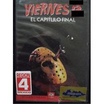 Dvd Pelicula : Viernes 13 El Capitulo Final / Jason Vorhees