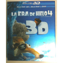 La Era De Hielo 4 En 3d ( Bluray 3d + Bluray + Dvd )