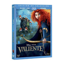 4 Princesas Disney En Blue Ray Valiente, Pocahontas Vv4