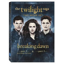 Breaking Dawn 1 Y 2 / Amanecer 1 Y 2 Dvd - Eu