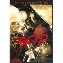 300, Edicion Especial 2 Discos, Comics, Estuche Metal, Dvd