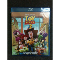Toy Story 3 ( 2 Blurays + Dvd ) Nuevo Original