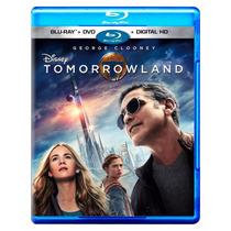 Tomorrowland 2015 George Clooney , Pelicula En Blu-ray + Dvd