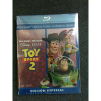 Toy Story 2 ( Bluray + Dvd + Cd De Musica ) Nuevo