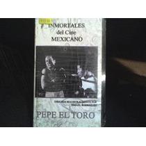 Pelicula Vhs Pepe El Toro Con Pedro Infante, Nueva Y Sellada