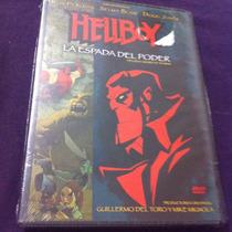 Hellboy La Espada Del Poder Película Animada Nueva Y Sellada