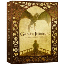 Game Of Thrones Temporada 5 Cinco, Serie De Tv En Dvd