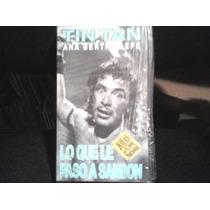 Pelicula Vhs Lo Que Le Paso A Sanson, Con Tin Tan
