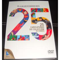 Warner 25 Caricaturas De Colección Dc Comics En Dvd