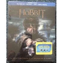 Blu-ray 3d El Hobbit La Batalla De Los 5 Ejercitos Bluray