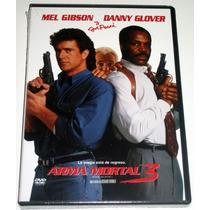 Dvd: Arma Mortal 3 / Lethal Weapon 3 (1992) Mdn