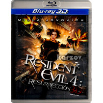 Resident Evil 4 La Resureccion 3d, Afterlife, Blu-ray 3d